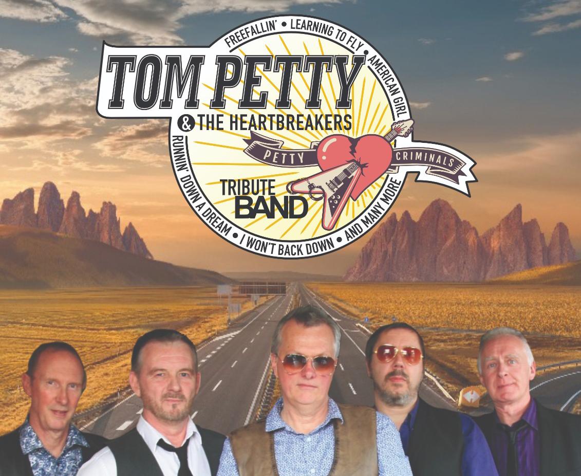 Petty Criminals logo and band