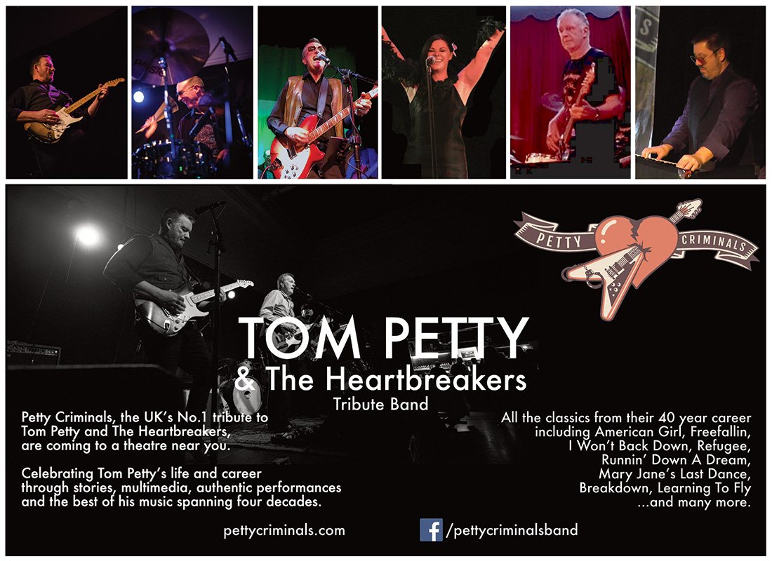 Petty Criminals tribute flyer