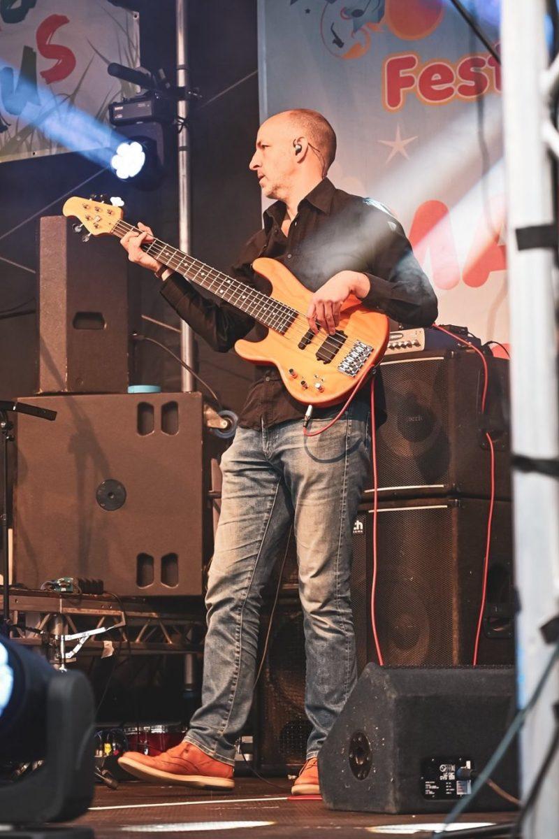 Edwin Harvey bassist Petty Criminals